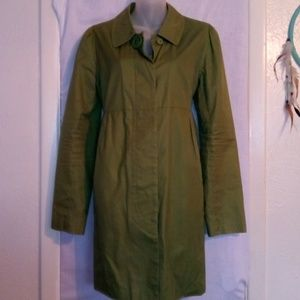 BB Dakota Olive Green Rain Jacket